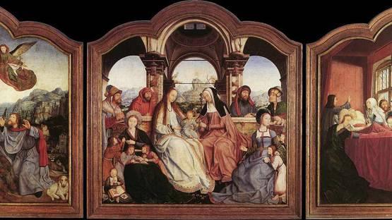 Quentin Matsys - St Anne Altarpiece, 1508