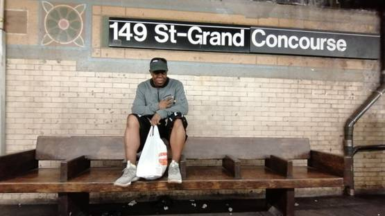 RIFF 170 - portrait at the famous benching spot from the 70s in the Bronx, 2019