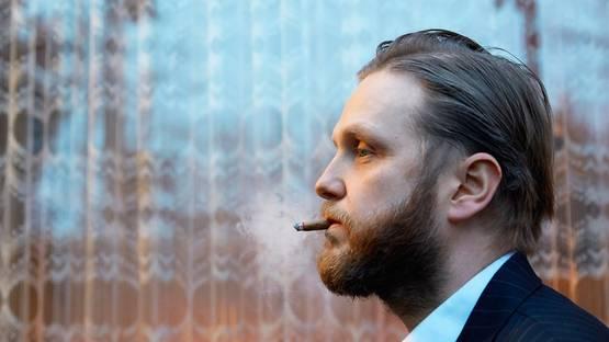 Ragnar Kjartansson - portrait of the artist - image via maggis