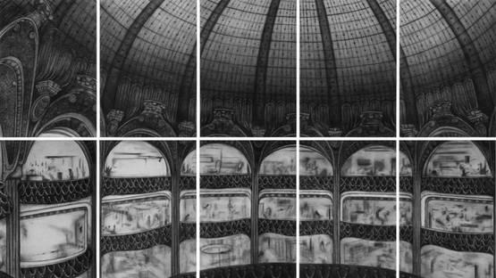 Rainer Wölzl - Panoptikum II Galeries Lafayette, 2018 (detail)