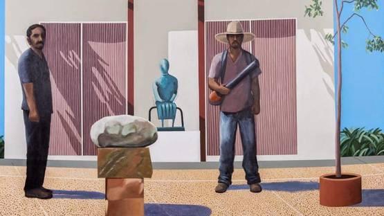 Ramiro Gonzalez - DVF (detail), 2014