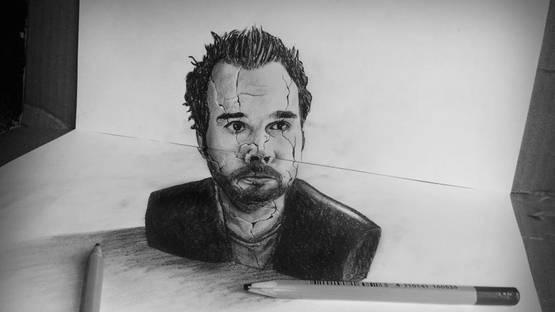 Ramon Bruin - Self Portrait