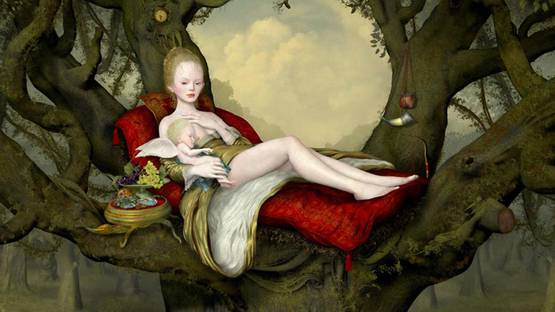 Ray Caesar - Mother and Child (detail), 2013