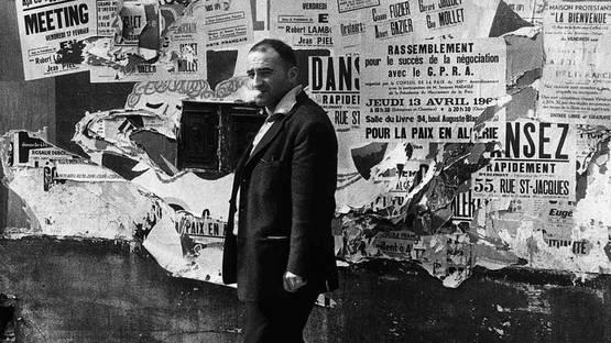 Raymond Hains, Paris, 1961 - Image source Androgon magazine website