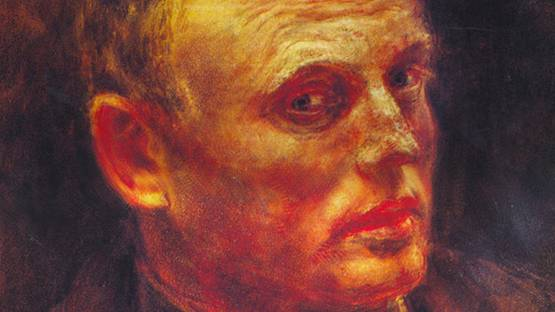 Reginald Marsh - Self Portrait 1933 (detail)