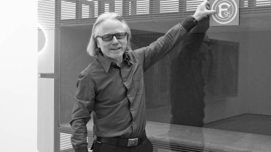 Reinhard Mucha, photo courtesy of Galerie Bärbel Grässlin