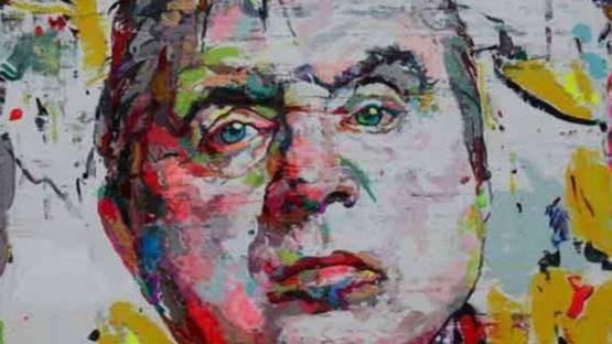 Ren Zhenyu - Portrait of Francis Bacon, 2012 (detail)