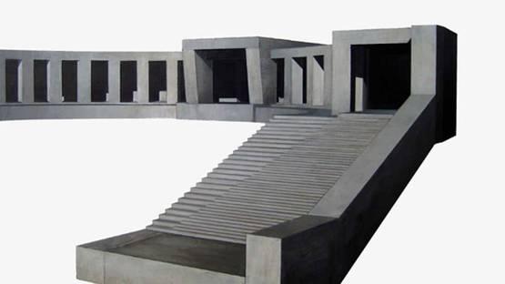 Renato Nicolodi - Virtuality (detail), 2007, acrylic on paper