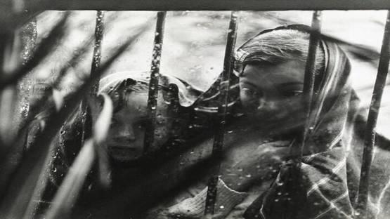 Reva Brooks - Children Looking Through the Window - 1950s Photo credits tumblr.com