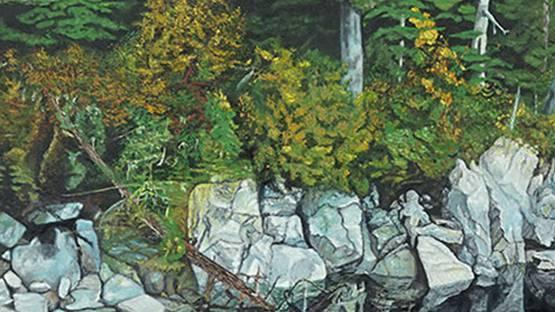 Richard D. Phillips - Deep Wood (detail) photo credits Susanin