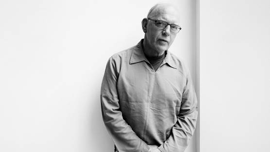 Richard Deacon - portrait, photo via the-talks