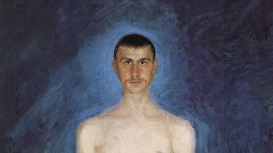 Richard Gerstl autoportrait 1901 (detail)