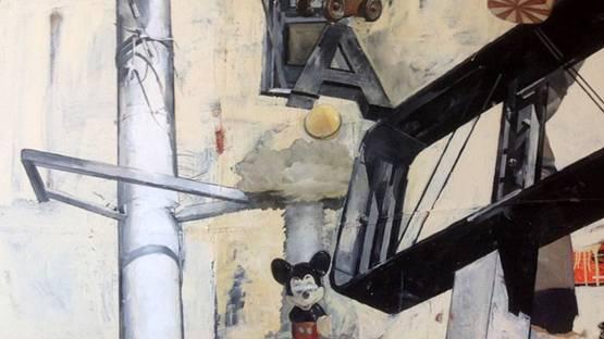 Richard Kessler - Untitled (detail), photo credits - District Gallery