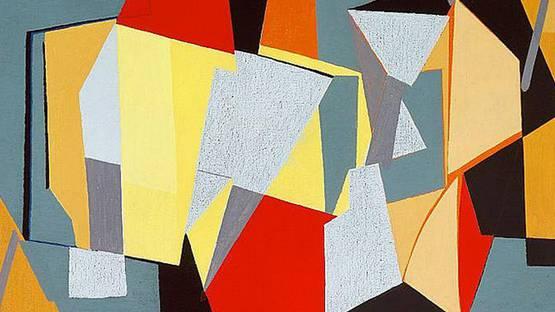 Richard Mortensen - Garches-Suresnes (detail), 1947
