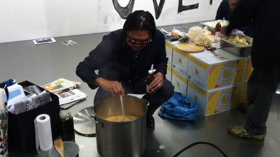 Rirkrit Tiravanija - Cooking Up an Art Experience