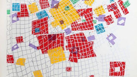 Risaburo Kimura - City 132, 1970 (detail)