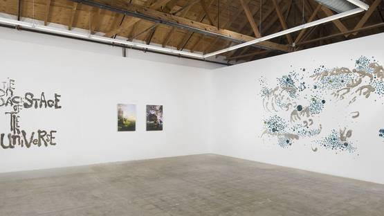 Rob Wynne - Wynne's pieces at Gavlak Gallery - Image via latimes