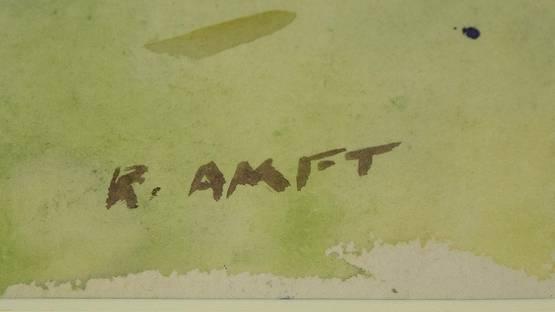 Robert Amft - Signature, photo by Ruby Lane
