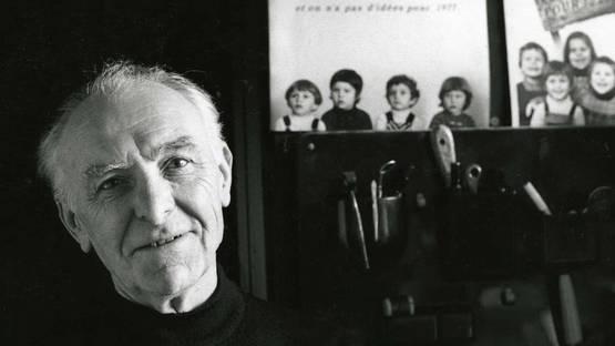 Robert Doisneau's Portrait - Photo Credits Bracha L. Ettinger