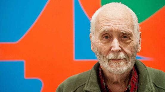 Robert Indiana - portrait
