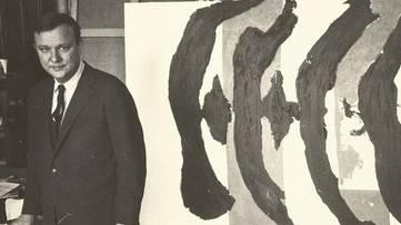 Robert Motherwell - Portrait - Photo via pinterest
