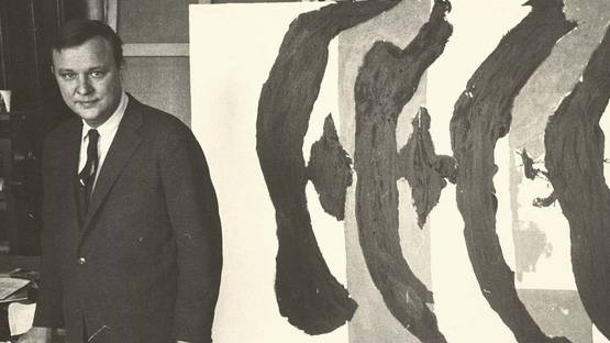 Robert Motherwell - Portrait - Photo via pinterest