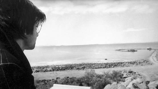 Robert Smithson - Portrait of the artist (Detail), photo credits Criticalissueintheculturalindustries