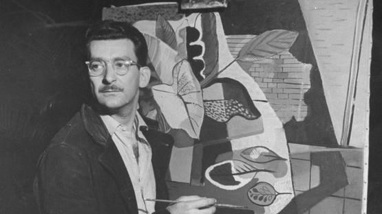 Roberto Burle Marx - The artist at the Jewish Museum - Image via vogue
