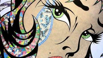 Robin Coleman - detail of an artwork - photo via pinterest