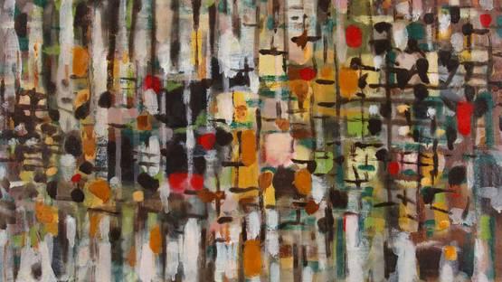 Roger Bissiere - Composition 368, 1957 - detail