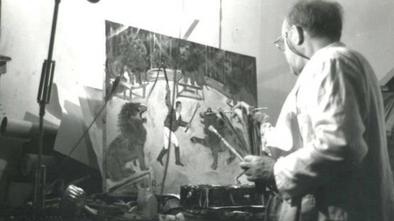 Roland Dubuc in studio - Image source roland-dubuc.com