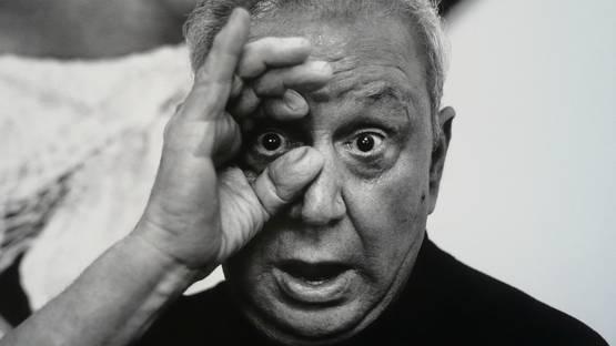 Ron Galella - Photo of the artist - Image via oracoolblogcom