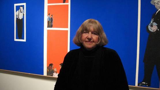 Rosalyn Drexler - Photo of the artist - Image via pinterest