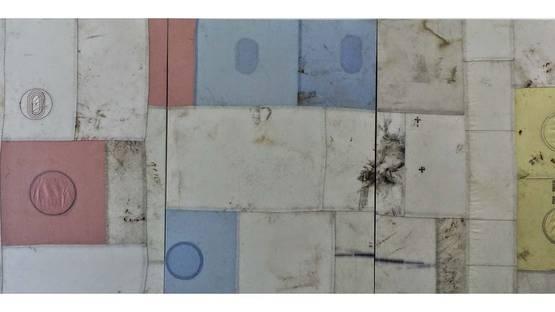 Ross Iannatti -Hysteresis no. 105, 106, 107 , 2014