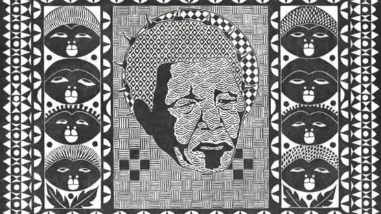 Roy Ndinisa - Mandela, 2011 (detail)