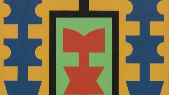 Rubem Valentim - Emblema Logotipo Poetico, 1974 (detail)