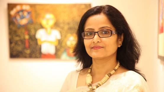 Runa Biswas - portrait