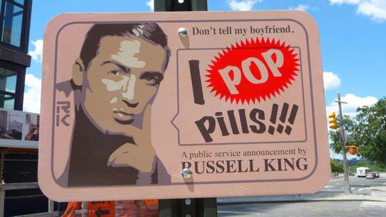 Russell King - I Pop Pills - photo credits - According 2 G