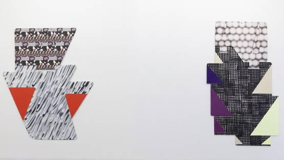 Ruth Root - solo show at Marta Cervera Madrid, installation view, photo via paintdiary