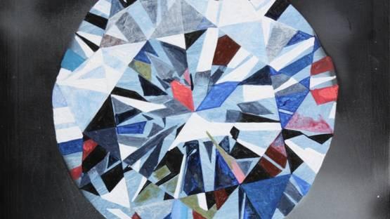 SP Harper - Alaz Blue Diamond, 2018 (detail)