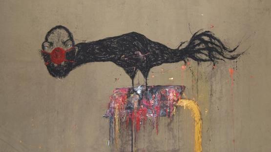 Sabhan Adam - detail of an artwork - photo credits of the artist