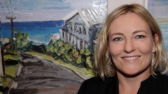 Sally West - portrait