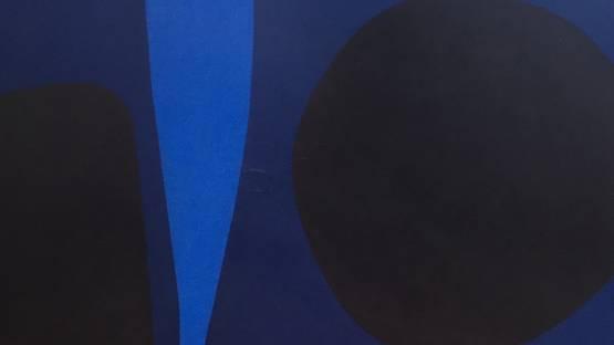 Salvador Corratgé - Forma No. 2, 1962, detail - image courtesy of Tresart gallery