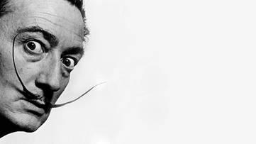 Salvador Dali - profile picture, portrait