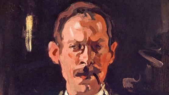 Samuel John Peploe - Self-Portrait (Detail)