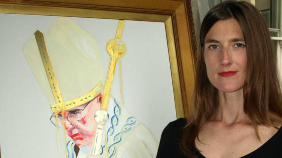 Sara Pope - Artist portrait, Image via laceycontemporarygallerycouk
