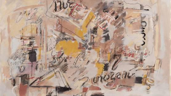 Sarah Grilo - Untitled, 1988 (detail)