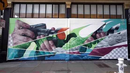 Sckaro - street art - photo credits of the artist
