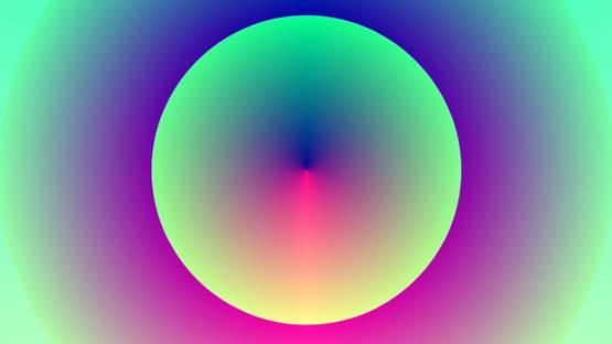 Sergio Recabarren - Radial Spectrum 2, 2017 (detail)