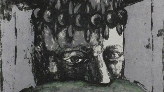 Sergio Vacchi - Selbstbildnis / Self-Portrait, 1965 (detail)